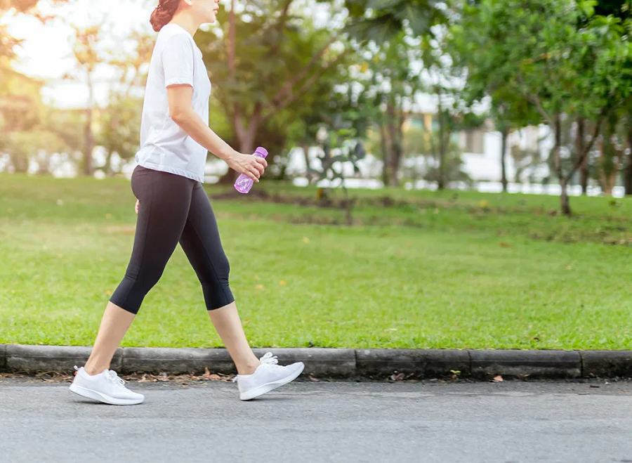 Making Time in Walking Fitness